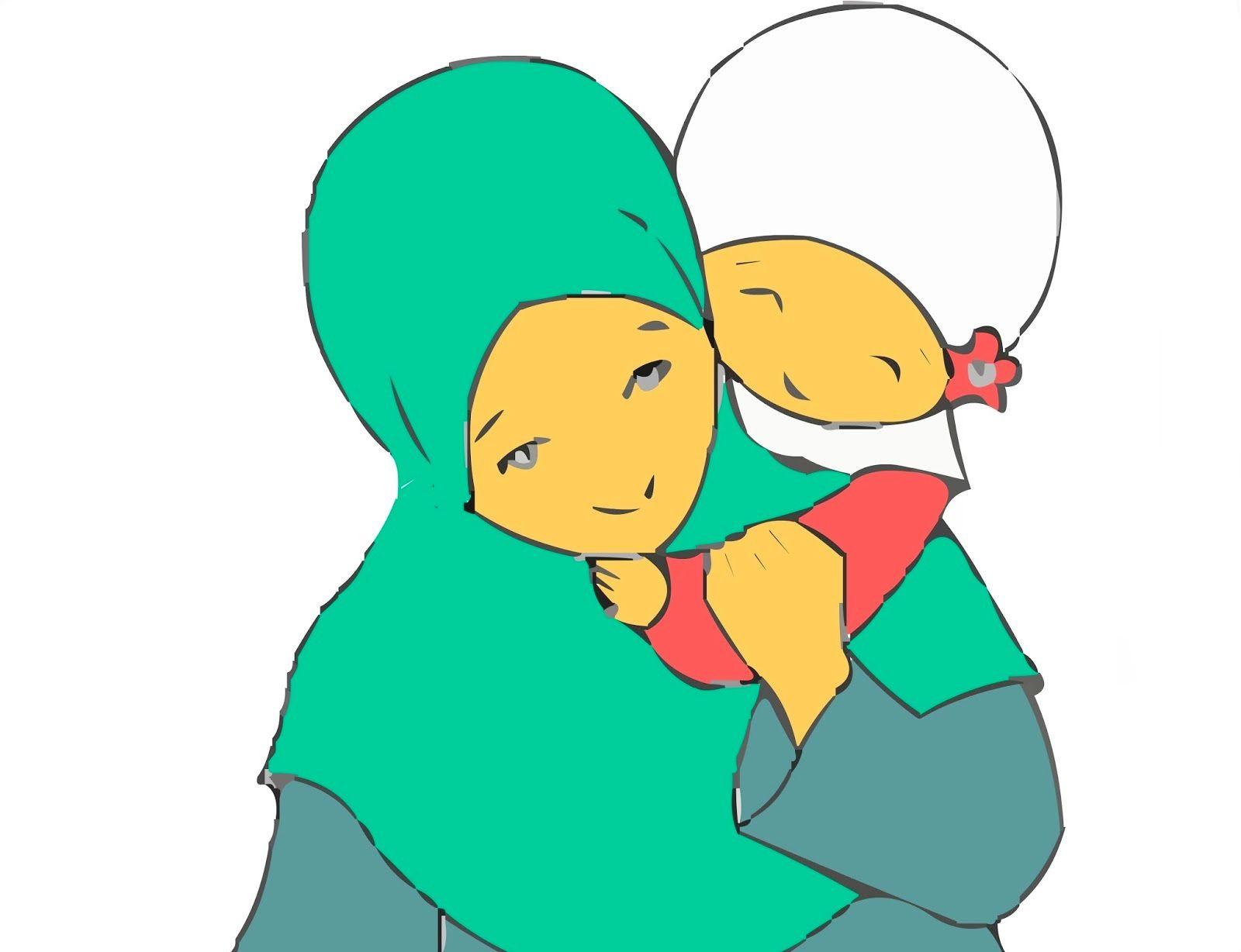 Gambar Kartun Ibu Dan Anak Gambar Pedia | Gambar animasi ...