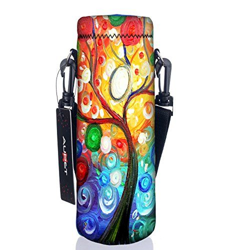 Water Bottle Carrier Insulated Neoprene Holder Bag Case Pouch Cover Bags WE