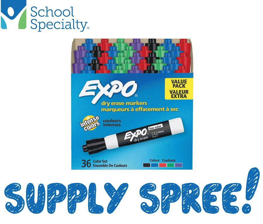 30 winners over 30 days Enter to win Assorted school supplies or