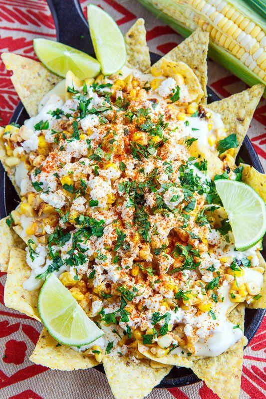 Mexican Street Corn Nachos Recette Recettes De Cuisine