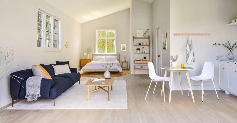 Brezza Light Oak Rectangular Coffee Table Modern White Living Room Mid Century Modern Living Room White Rug #rugs #for #living #room #8x10