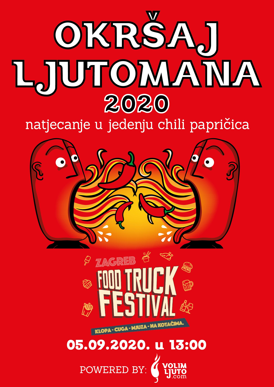Okrsaj Ljutomana 2020 05 09 2020 Food Truck Festival Jarun Zagreb Volim Ljuto In 2020 Stuffed Hot Peppers Stuffed Peppers Book Cover