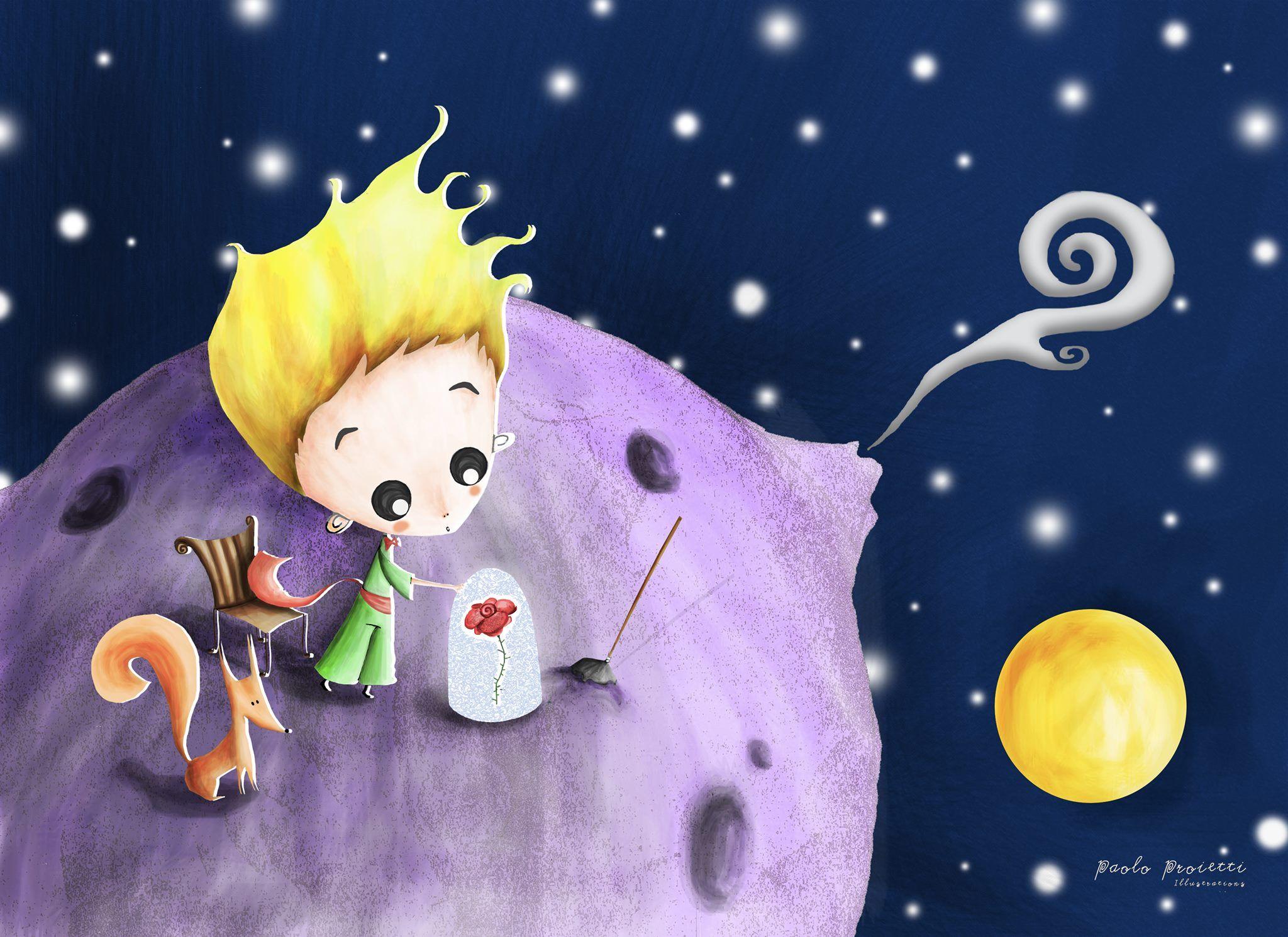 Маленький принц картинка маленького