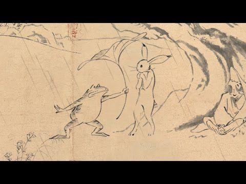 Marubeni Group Choju Jinbutsu Giga Scrolls Of Frolicking Animals And Humans Studio Ghibli Ghibli Animation Film