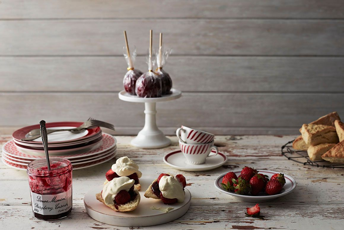 Red & White, Dario Milano, Food Stylist.