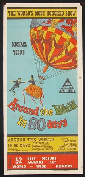 Mike Todd S Around The World In 80 Days 1956 Staring David