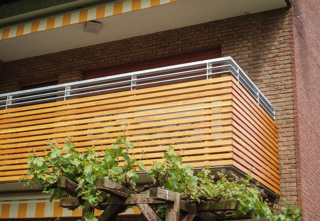 Balkon Mit Holzverkleidung Terrasse Balkon Balkongelander Und