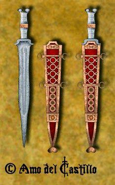 El gladio está indefectiblemente asociado a la imagen del legionario romano. De toda su panoplia es indudablemente la pieza más conocid...