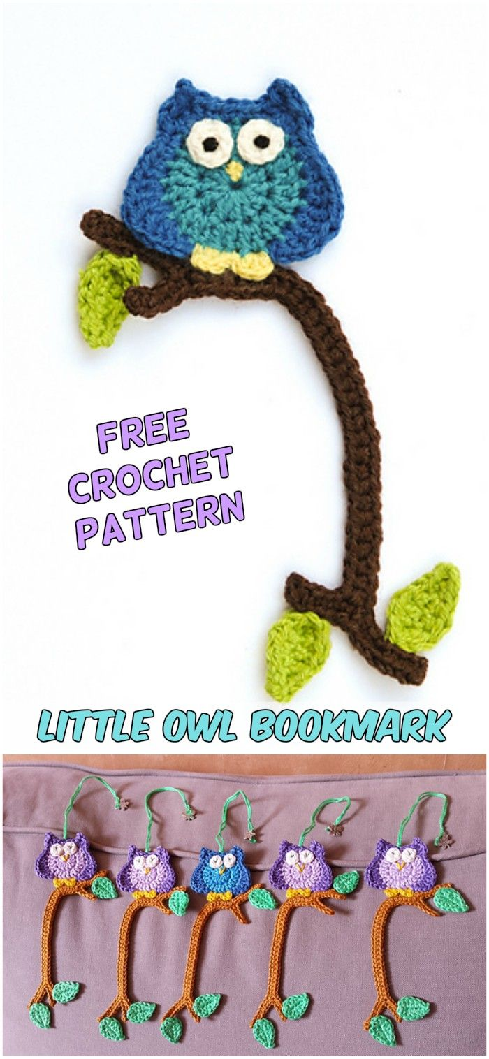 5 Beautiful Crochet Ideas for Bookmarks Free Patterns | mom ...