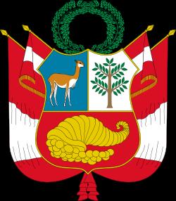 Coat Of Arms Of Peru Wikipedia The Free Encyclopedia Coat Of Arms Peru Flag National Symbols