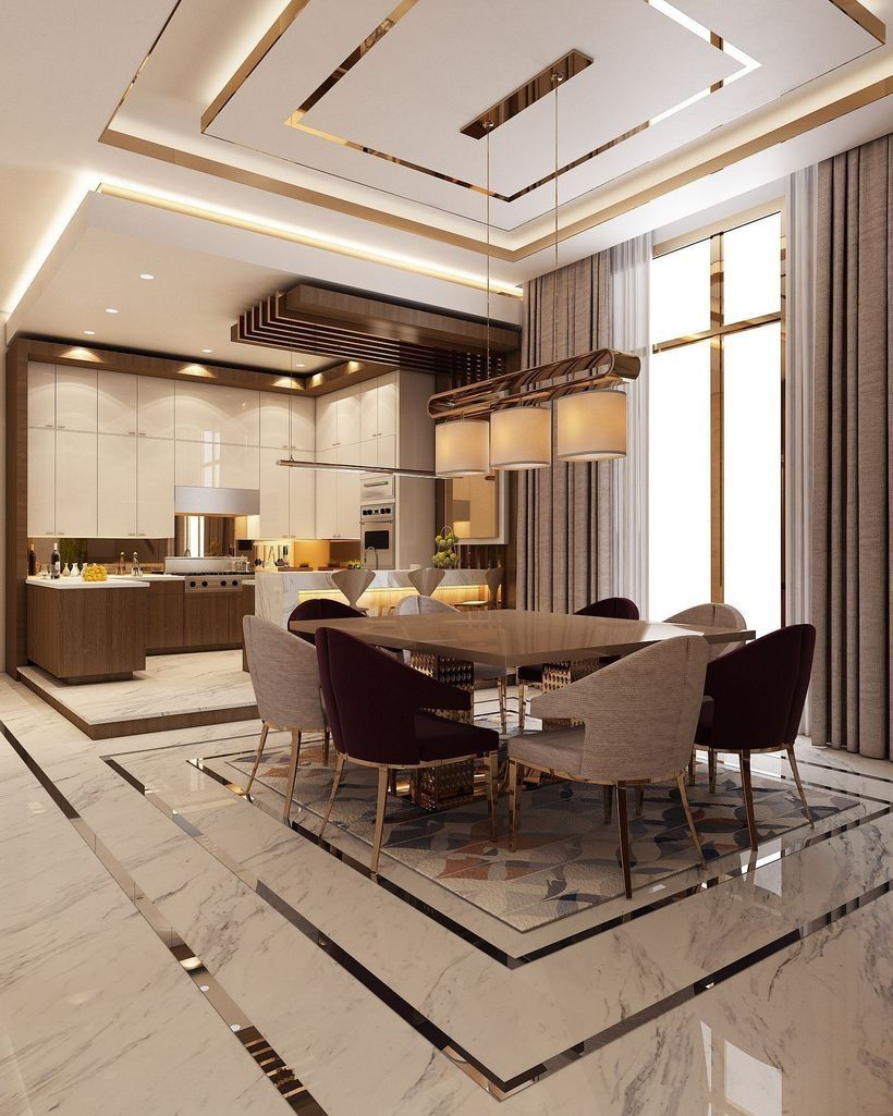 42 Incredible Dining Room Design For Modern Home Hd Ecor Com In 2020 Dining Room Design Modern Dining Room Design Luxury Living Room