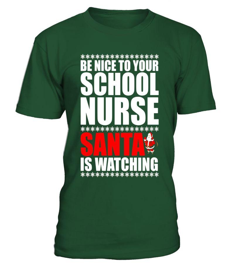 54217cd704 School Nurse Gift Christmas T-Shirt nurse tshirts for women, nurse tshirts  for men