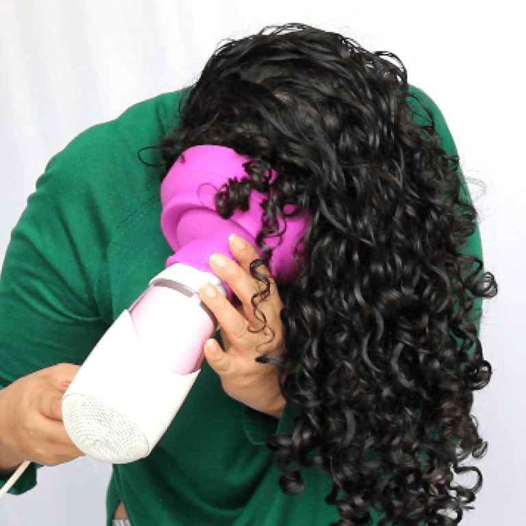 Say Goodbye To Your Dry Frizzy Curly Hair 12 Easy Hacks Tips Frizzy Curly Hair Curly Hair Tips Curly Hair Styles