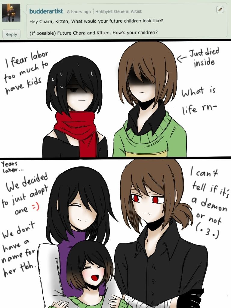 Deal with it Chara.We're not gonna DO it by CNekochan