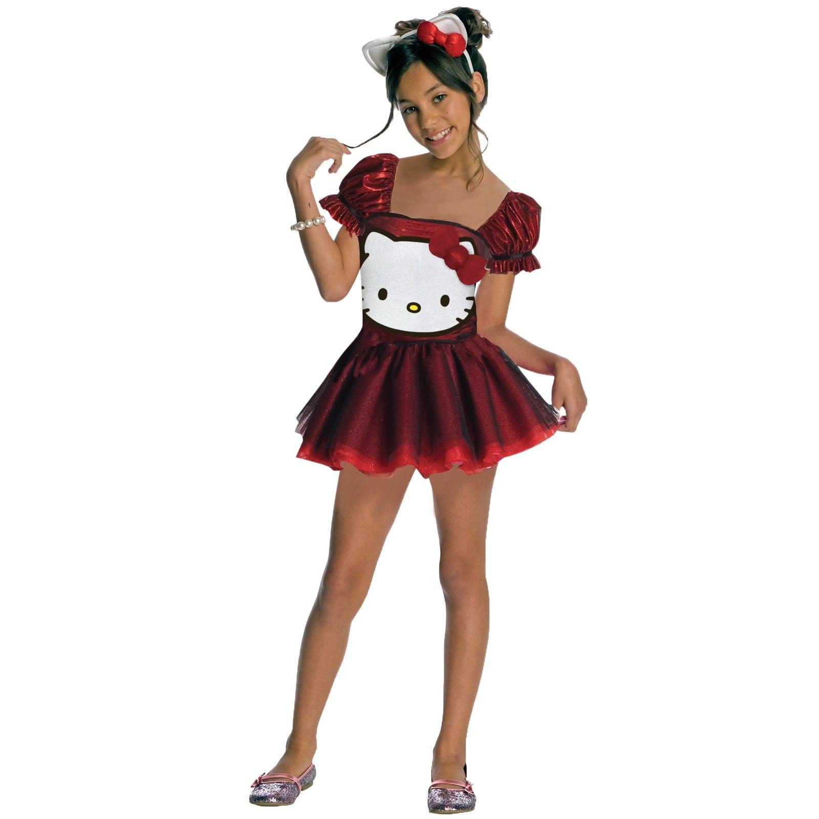 hello kitty costumes teen girl