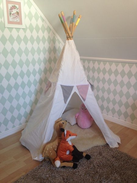 Barnrum barnrum diy : teepee,#barntält,#diy,diy,do-it-yourself,barnrum | barnrum ...
