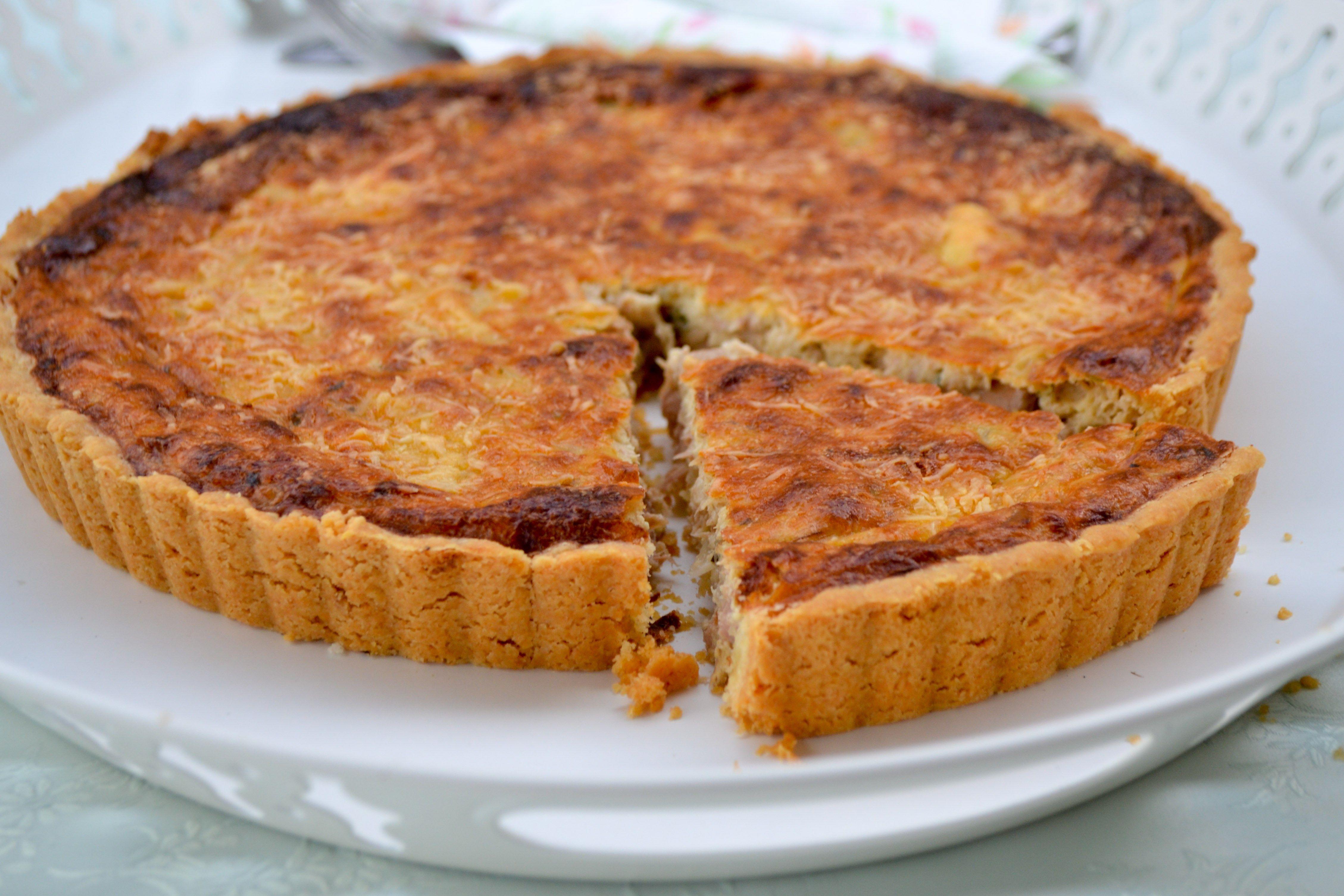 Tuna Mornay Quiche   Recipe