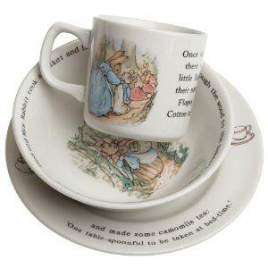 Beatrix Potter Peter Rabbit M Alphabet Mug Gift Box