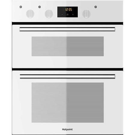 Hotpoint DU2540WH Luce Electric Built-under Double Oven White ...