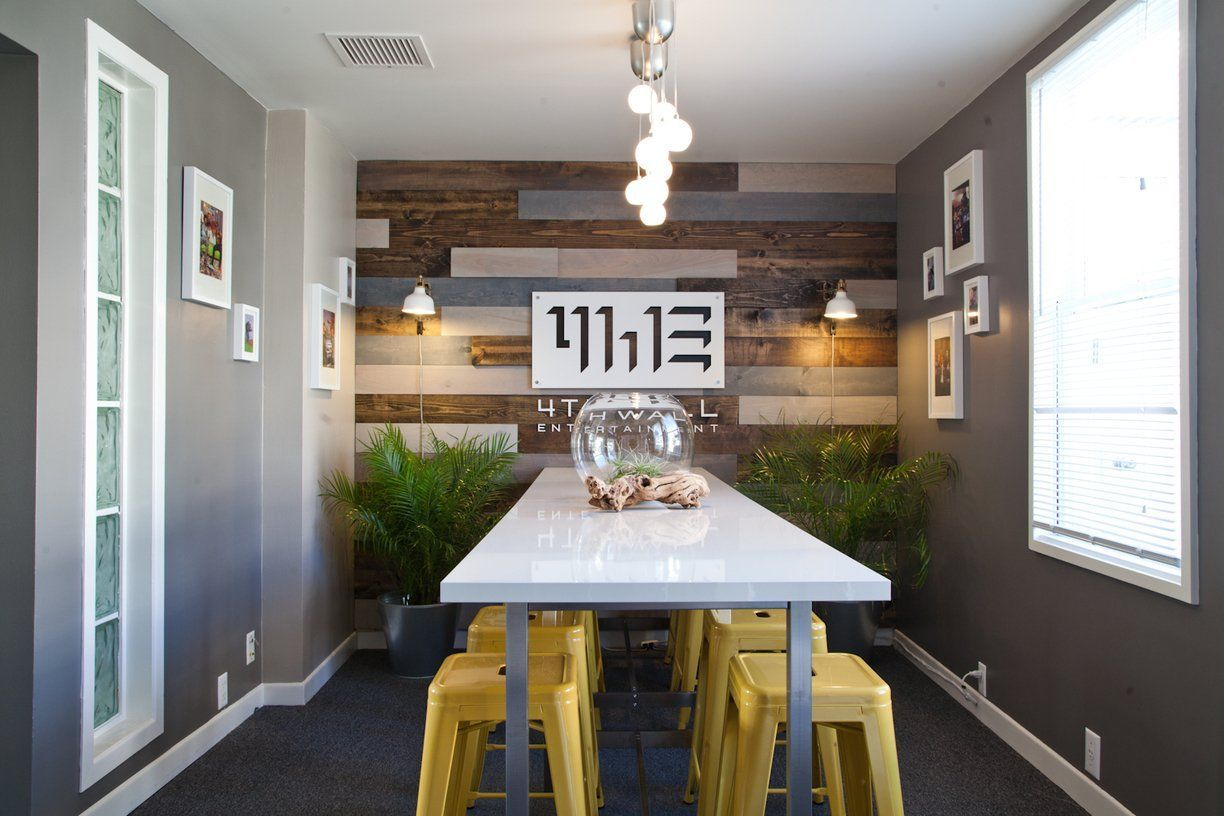 Joshua's Functional Warm Minimalism -  awesome feature wall & LOVE the stools  - #functional #Joshuas #minimalism #Photoframeart #Photoframedesign #Photoframelayout #warm