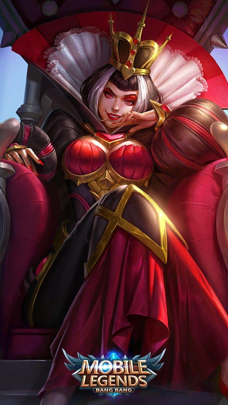 Heartbreak Empress Mobile Legend Pinterest Mobile Legends