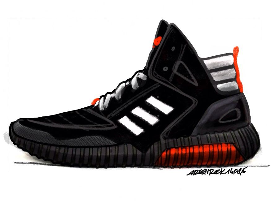 #arsenrock #adidas #mars #boots #yeezy #design #drawing #footwear