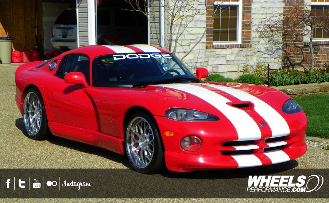 Our Client S Dodge Viper Gts With 19 20 Iss Forged Spyder Wheels Www Wheelsperformance Com Dodge Viper Dodge Viper Gts Viper Gts