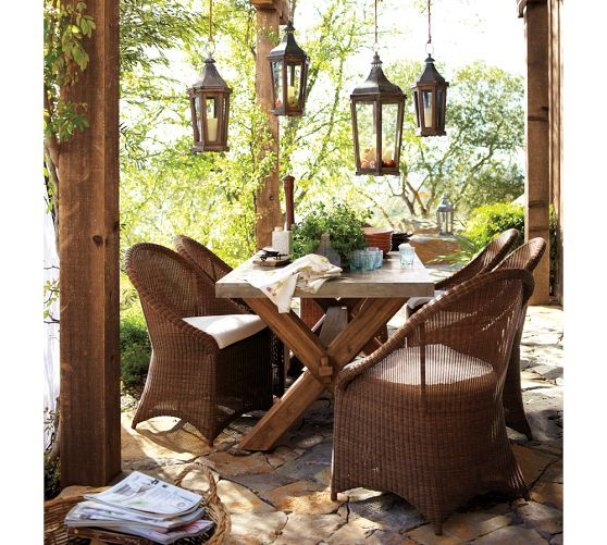 Park Hill Lantern Pottery Barn In 2019 Rustic Outdoor