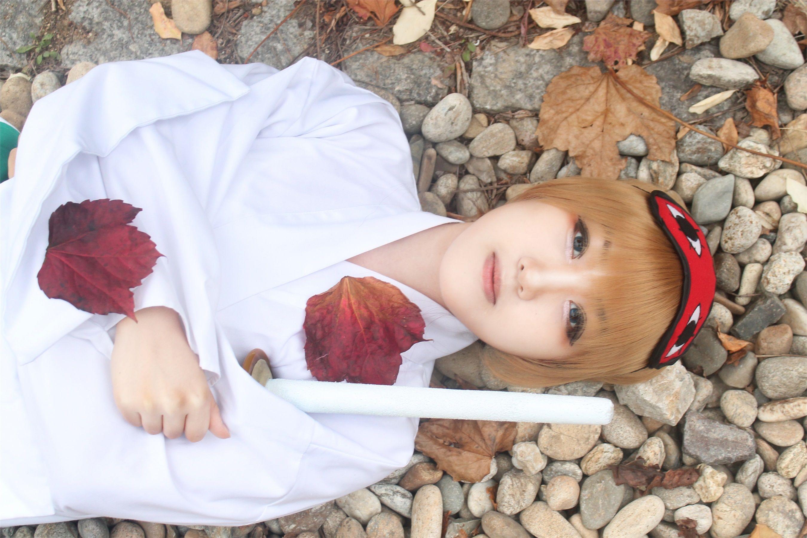 okita childhood - Hamto Sougo Okita Cosplay Photo