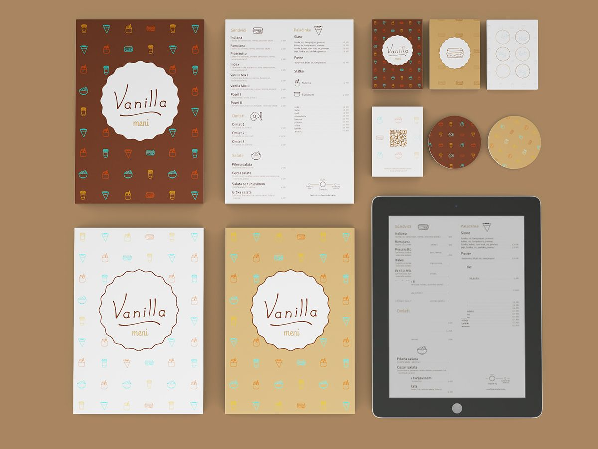 Vanilla on Behance Print design magazine, Cool coffee