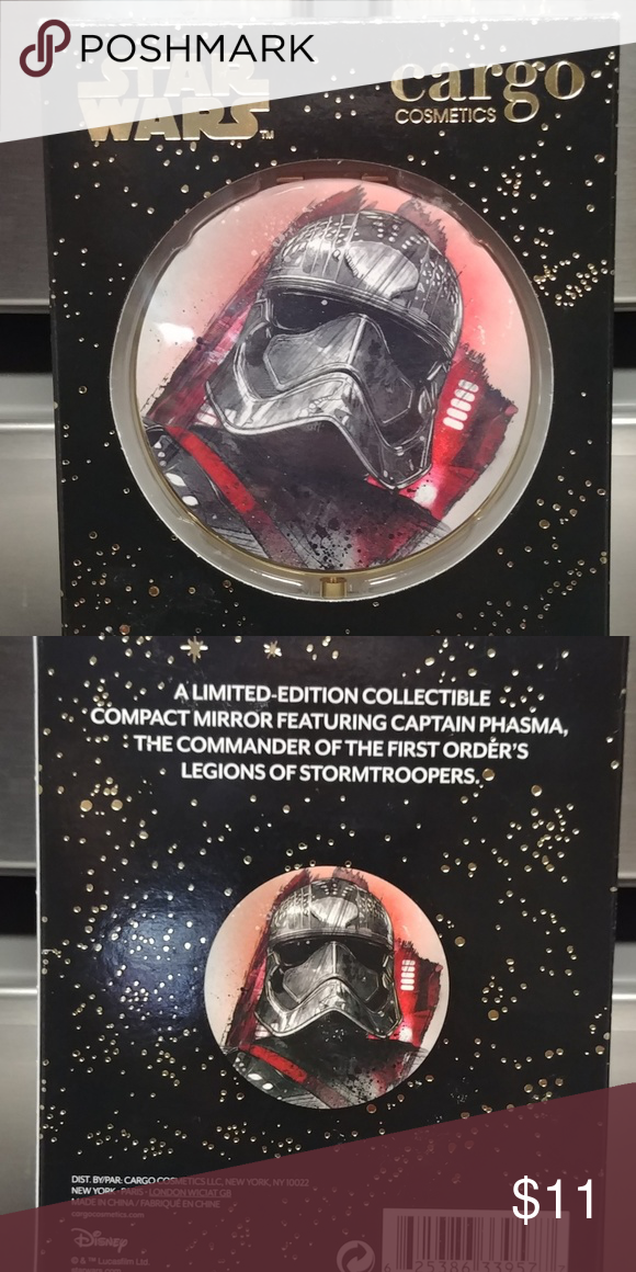 Brand New Star Wars Collectors Makeup Mirror Collector Edition By