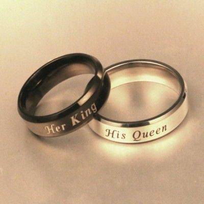 a1f15dc649 Design your own matching couples promise rings. Browse our cheap promise  rings for couples.