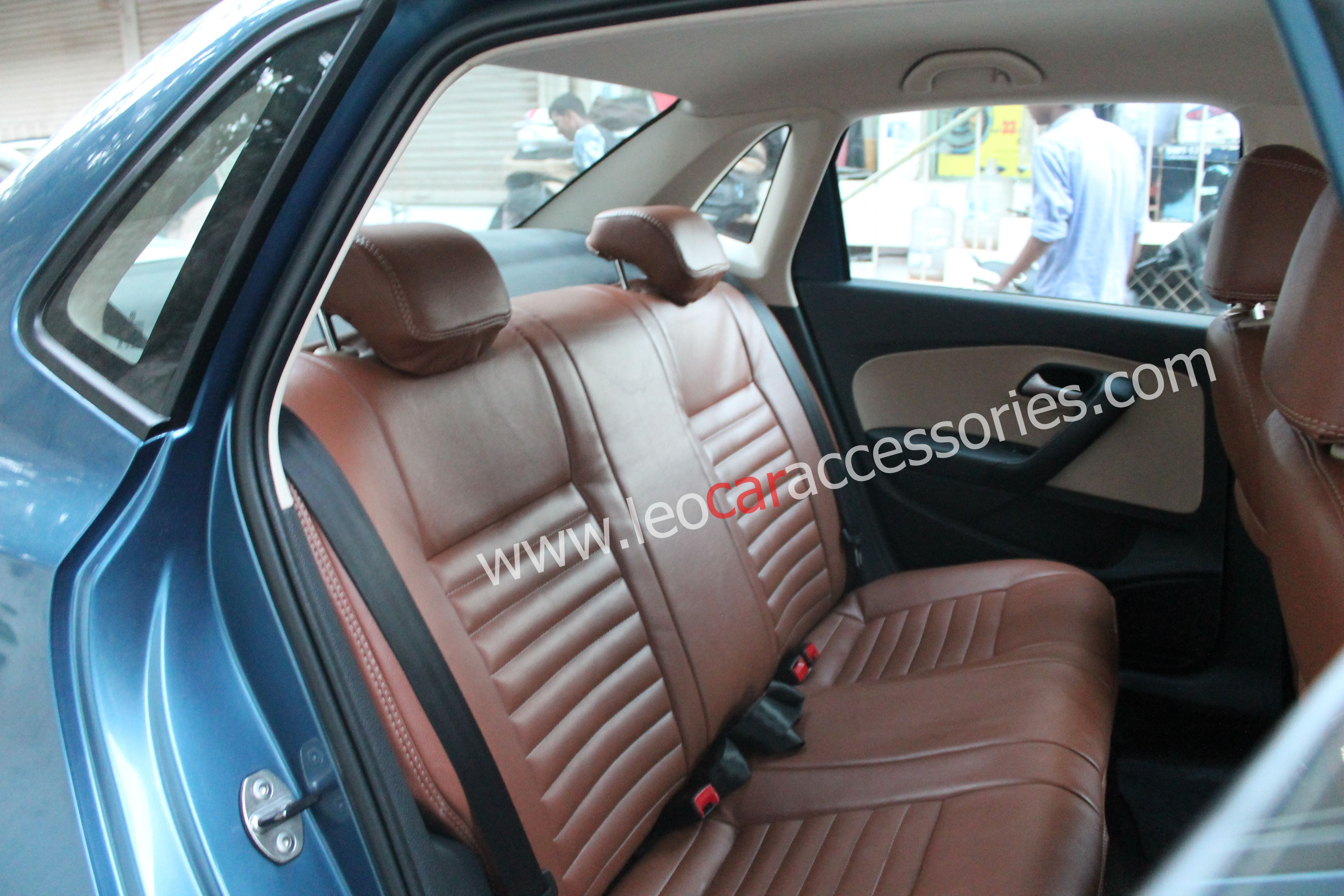 Peachy Volkswagen Ameo Customfit Seat Cover Installed At Leo Car Ocoug Best Dining Table And Chair Ideas Images Ocougorg