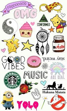 Cute background shared by Clementine Caillau on We Heart It