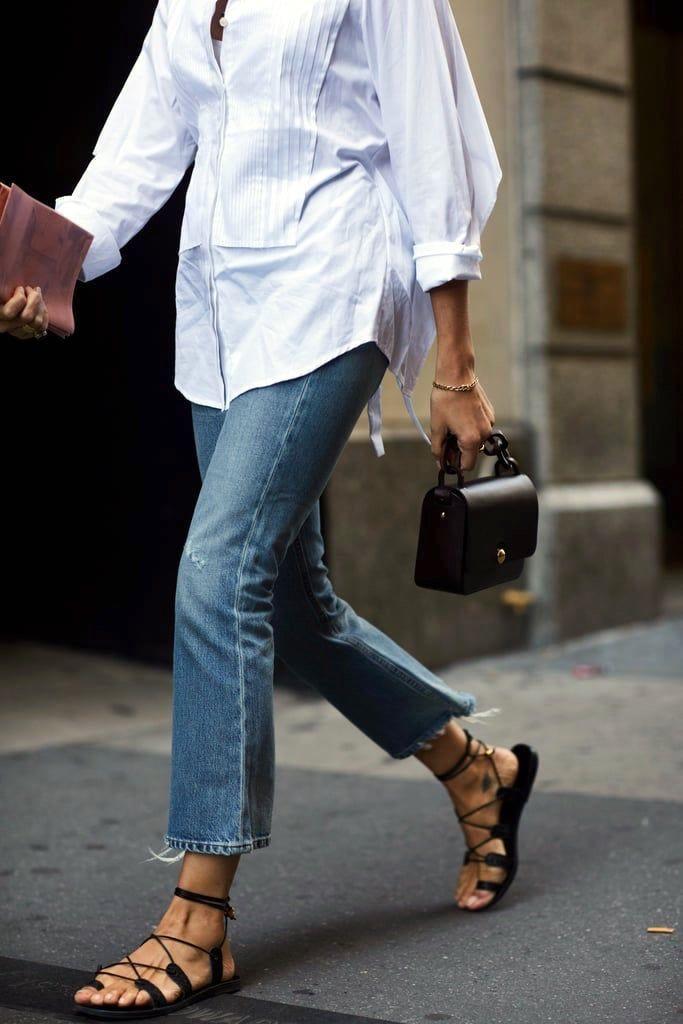 Ein Off-Duty-Look, der sowohl stilvoll als auch komfortabel ist (Le Fashion) #lefashion
