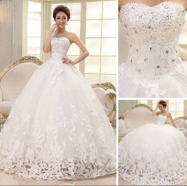 For those Brides that Love Big Wedding Dresses | gowns | Pinterest ...