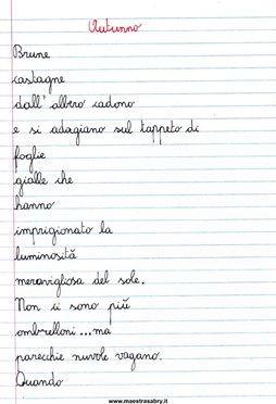 Quaderno delle poesie classe quarta quaderni di italiano pinterest - Diversi analisi grammaticale ...