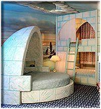 Winter Wonderland Theme Bedrooms Arctic Animals Decorating Ideas Penguins Polar Bears