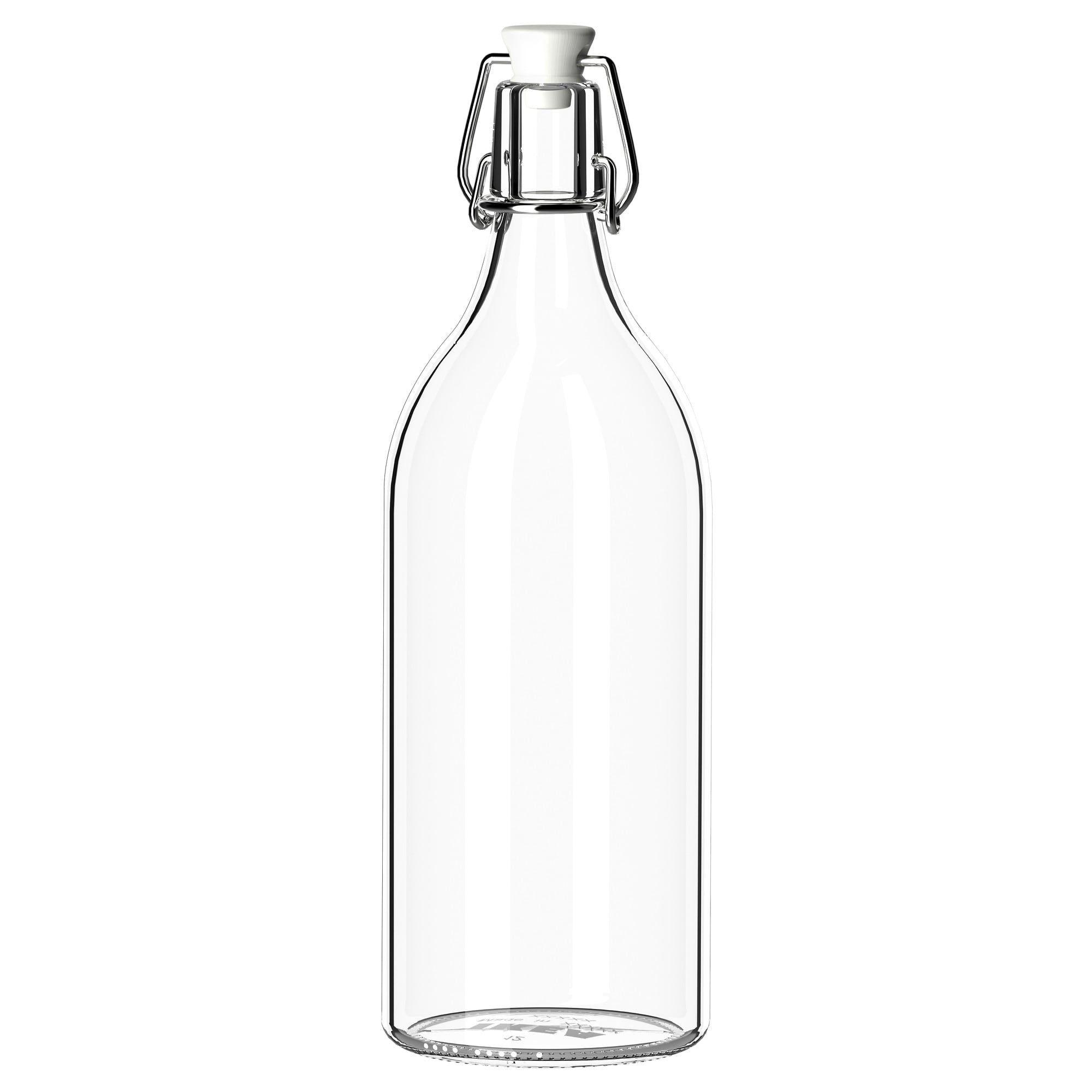 Korken Bottle With Stopper Clear Glass Height 11 Diameter 4 Ikea Bottle Glass Stopper Clear Glass