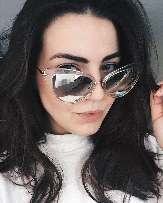 23c55f0e657c Fashion Blogger Ruth wears the HEARTBREAKER cat eye vintage sunglasses by DITA  Eyewear.