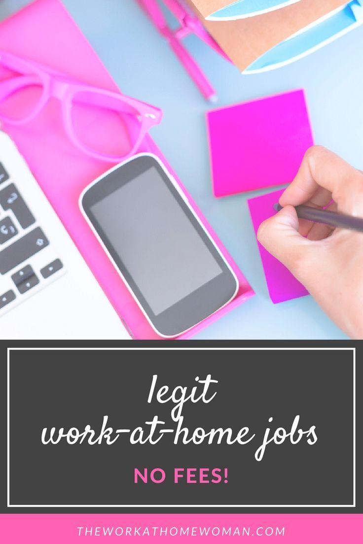 30 Legit WorkFromHome Jobs With No Startup Fees 2020