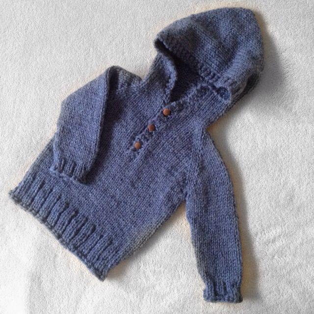 7084bd1ffab9 Seamless baby Hooded Pullover by Maggie van Buiten - top down ...