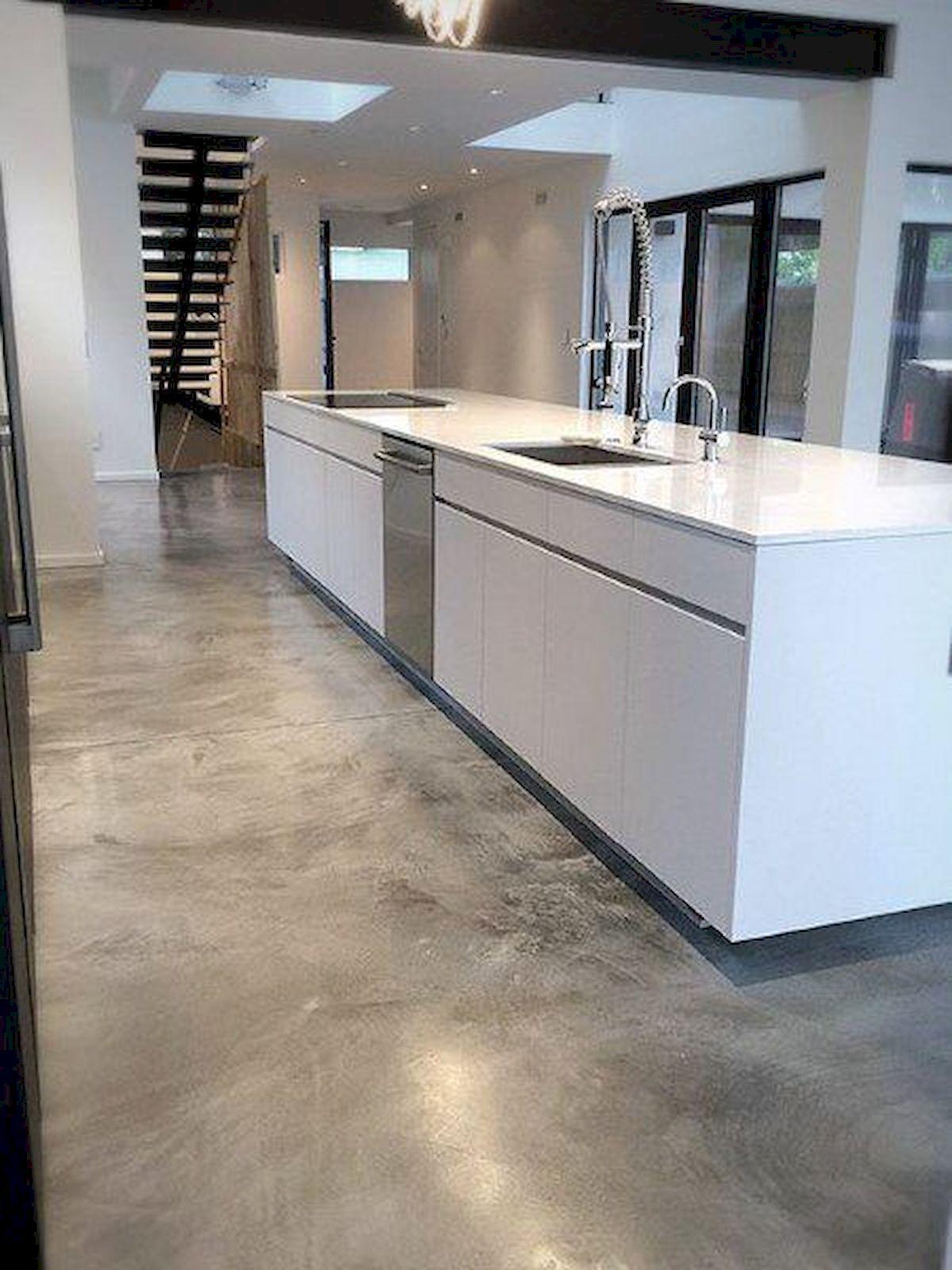 70 smooth concrete floor ideas for interior home 22