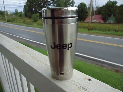 Jeep Stainless Steel Insulated Travel Mug Coffee Cup For The