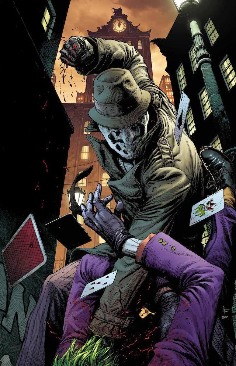 Reginald Long Watchmen Dc Comics Art Doomsday Clock Rorschach