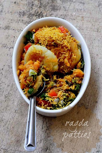 Ragda Patties Recipe - How to Make Ragda Pattice, A Popular Indian Chaat Recipe