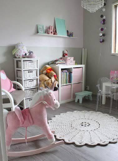 Couleur déco pour la peinture chambre fille | Baby | Big girl ...