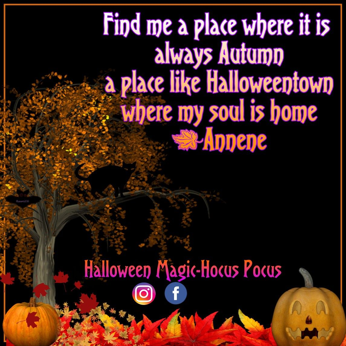 Find Me A Place Like Halloweentown I Wish To Live There