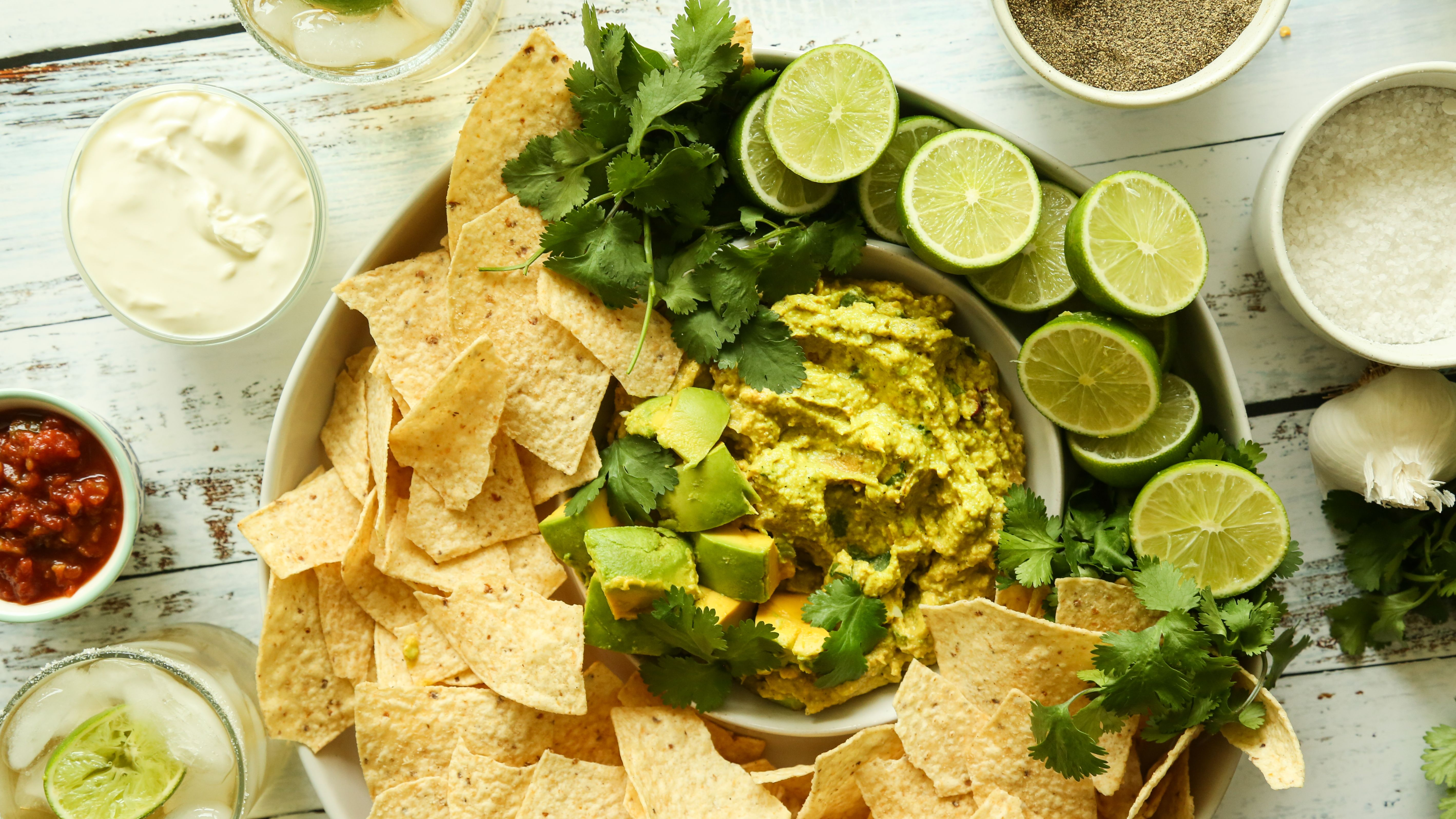Can You Substitute Lime For Lemon In Guacamole Guacamole With Sour Cream Recipe Food Com Recipe Sour Cream Recipes Summer Potluck Recipes Yummy Appetizers