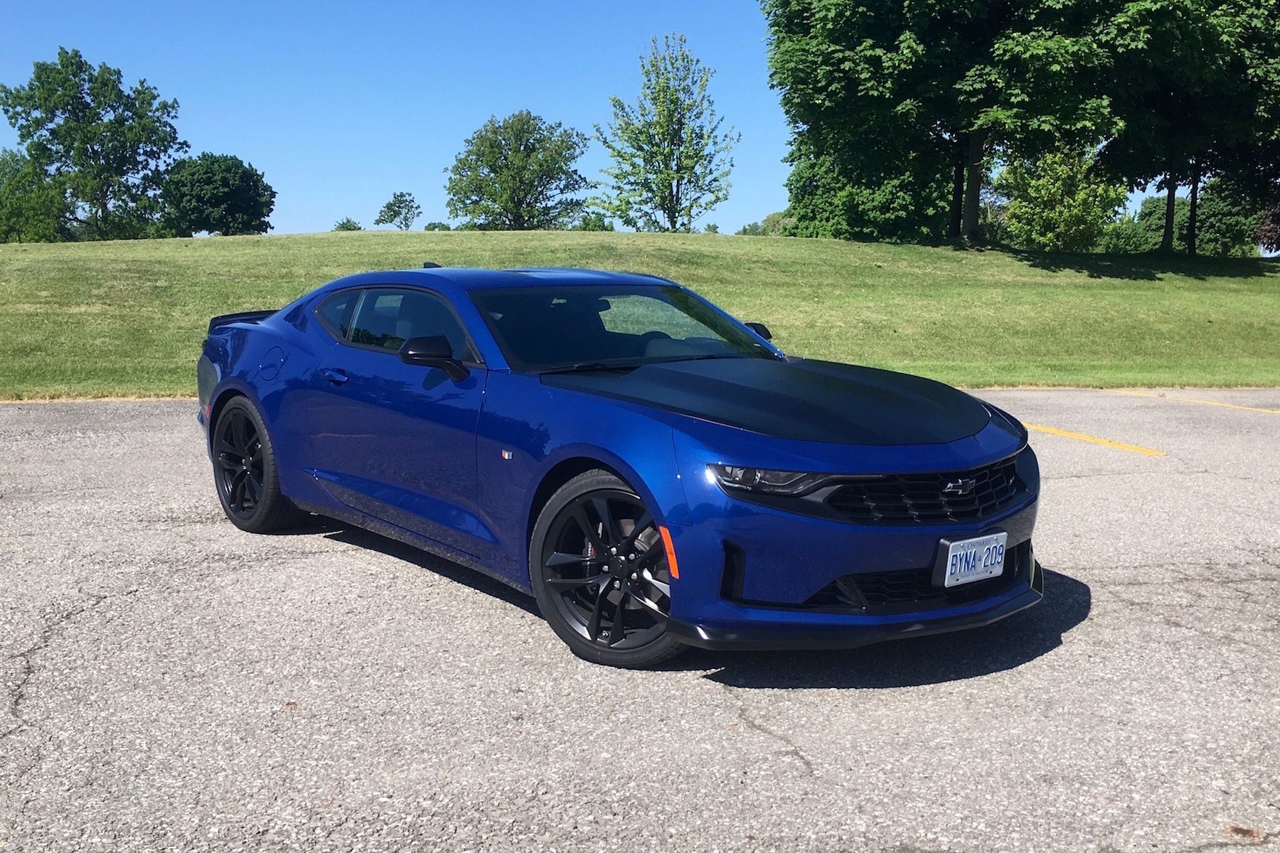 Car Review 2019 Chevrolet Camaro 2 0t 1le Chevrolet Camaro